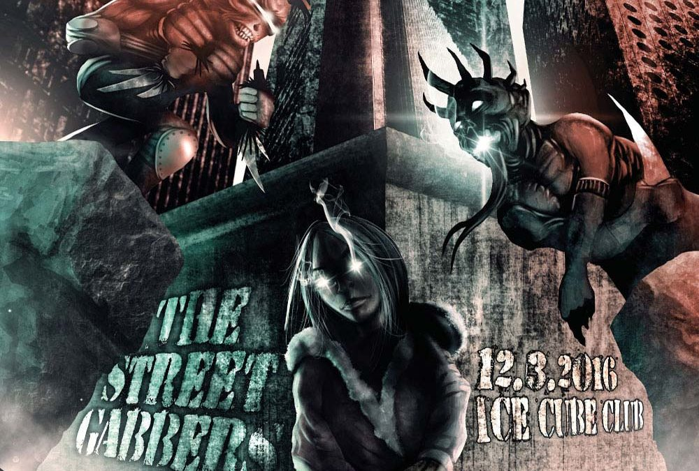 The Street Gabbers – Digital art