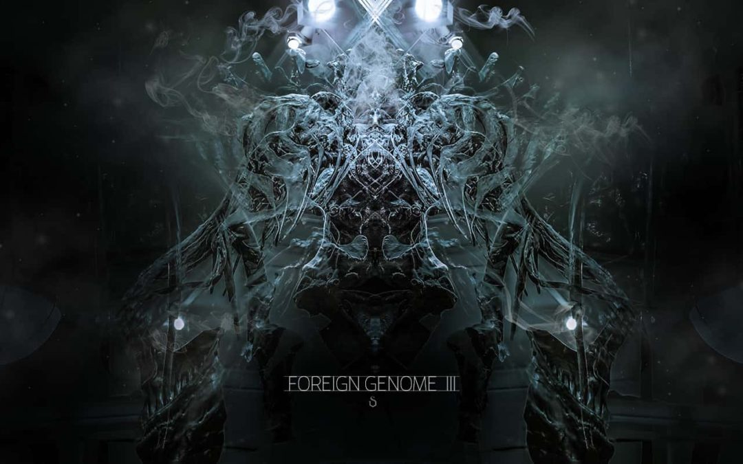 Foreign Genome Digital Art